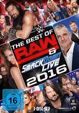 WWE The Best Of Raw And Smackdown 2016 [3 DVDs] *NEU* DEUTSCH DVD