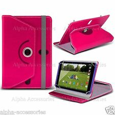 "Universal PU Leather 360° swivel Case Cover For 7"" 7 Inch Tab Android Tablet PC"