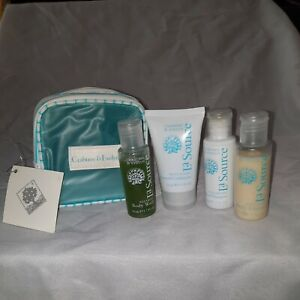Crabtree and Evelyn La Source 6Pc Travel Seaweed Shampoo Conditioner Lotion Wash