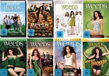 22 DVDs * WEEDS - KLEINE DEALS UNTERN NACHBARN - STAFFEL 1-8 IM SET # NEU OVP <