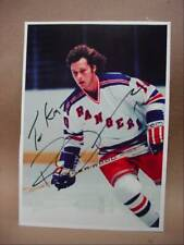 New York Rangers Ron Duguay NHL Autographed Signed Photo