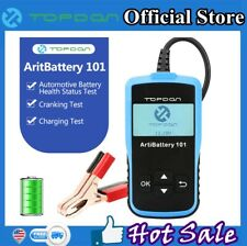 12V Battery Tester Automotive Check Battery Cranking Charging Test 100-200CCA