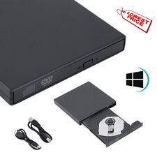 Extern USB 2.0 Laufwerk ROM DVD Combo CD-RW Brenner für Laptop Notebook Schwarz.