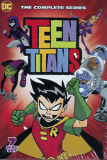 Teen Titans Complete Series 7 Dvd Box Set Brand New Free Shipping
