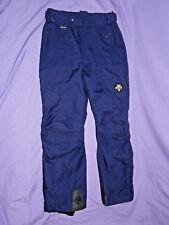 DESCENTE Men's Ski Snowboard Snow Winter PANTS Size 36 Blue THINK SNOW!! ❅ ❅ ❅