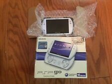 Sony PSP go 16GB Pearl White Custom Firmware COMPLETE many games and emulators