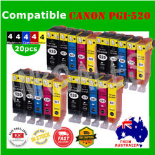 20x Ink Cartridges for PGI520 CLI521 Canon MP540 MP550 MP560 MP620 MX870 MP980