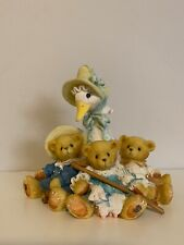 """Cherished Teddies Swan """"Friends Of A Feather Flock Together"""" 1997"""