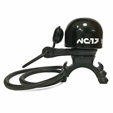 NC-17 Safety Bell Brass1 Fahrrad Klingel schwarz