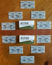 10 Astra Superior Platinum Double Edge Razor Blades - USA Seller - SHIPS FAST!!