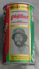 Garry Maddox Philadelphia Phillies 1976 Canada Dry Soda Can Used