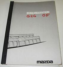 Schulungsunterlage Mazda 626 Typ GF / 323 Typ BA Diesel Motoren Stand Juli 1997!