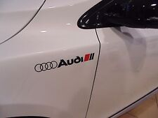 For AUDI  SPORT STICKERS, GRAPHICS,WING,CUSTOM,A1,A2,A3,A4,A5,A6,S3,S4, S LINE