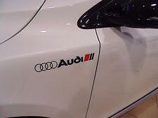 Pour Audi Sport Autocollants, graphiques, aile, Custom, A1, A2, A3, A4, A5, A6, S3, S4, S LINE