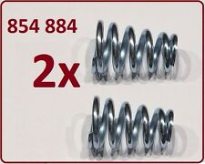2 St. Feder Auspuff Abgasanlage OPEL CORSA B 1.6 GSI 1.6i 16V 1.0i 12V 1.2 16V
