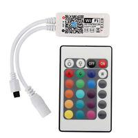 Mini WiFi Controller Remote Control for RGB/RGBW 5050 SMD LED Strip light 5V-28V