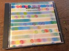 Wim Mertens - Vergessen [ CD Album ] 1988