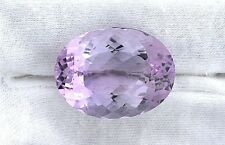 38.21 Carat Natural Brazilian Oval  Rose De France Amethyst Gemstone Gem Stone