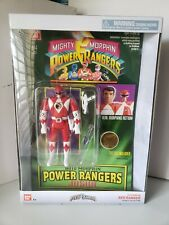 NIB Mighty Morphin Power Rangers Auto Morphin Red Ranger Jason Action Figure
