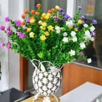 Artificial Flower Eucalyptus Fake Leaf Silk Bouquet Home Wedding Party Decor US