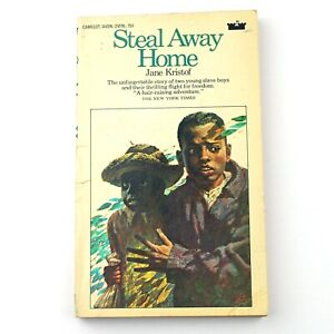 STEAL AWAY HOME by Jane Kristof (Avon Paperback, Dec 1970, 1st Printing) Slavery