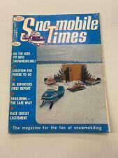 1971 February Snowmobile Times Magazine