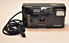 Olympus Infinity Jr Point & Shoot 35mm 1:3,5 AF lens camera tested works good