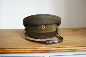 Communist Hungary ARMY VISOR HAT / CAP Size: 61cm