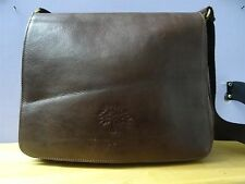 mulberry bag brown leather unisex or woman bag closed with magnet used