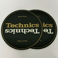 Technics Slipmats - Limited Edition - Gold and Cream x 2