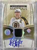 201819 ULTIMATE SIGNATURE MATERIALS RAY BOURQUE BOSTON BRUINS #UMS-RB AUTO /25