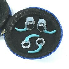 2 Pairs Silicone Waterproof Swimmers Ear Plugs with Case