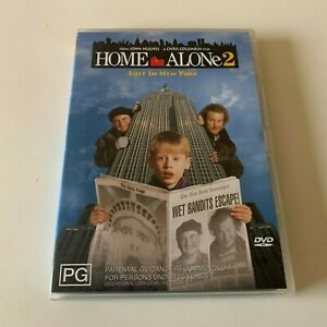 Home Alone 2 🎬 DVD Region 4 PAL 🎬