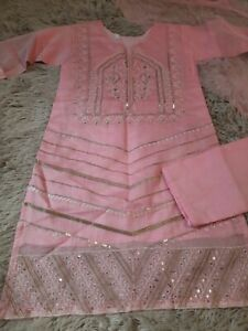Asian Indian Pakistani Ready Made Suit Salwar Kameez shalwar girls eid ethnic