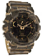 Imported Casio G-Shock Camouflage Dial Resin Quartz Men's Watch GA100CM