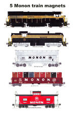 Monon Freight Train 5 magnets Andy Fletcher