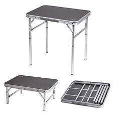 BO CAMP Alu Campingtisch -Camping Falttisch Klapptisch -Tisch höhenverstellbar!