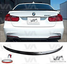 BMW 3 SERIES M3 F30 F80 M PERFORMANCE REAL CARBON FIBER BOOT TRUNK LIP SPOILER