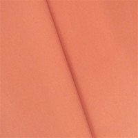 Coral Orange Cotton Sateen Home Decorating Fabric, Fabric By The Yard