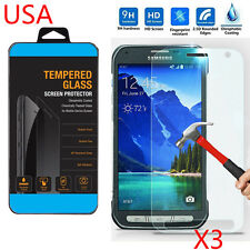 3X TEMPERED GORILLA GLASS SCREEN PROTECTOR For SAMSUNG GALAXY S6 Active G890 USA