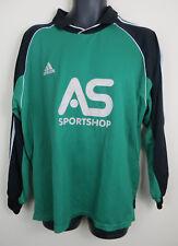 Vtg Adidas 90s Football Shirt Retro Soccer Jersey Long Sleeve Maglia Trikot XL