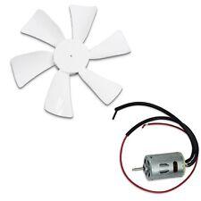 RV Vent Motor Bath Exhaust Fan Blade 12V Home Bathroom, Mobile Home RV Motor