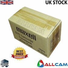 40 Pack: Maxell 8cm DVD+RW blank rewritable media for DVD camcorders Retail Case
