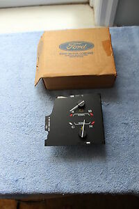 NOS 1989 FORD BRONCO II OR RANGER W/O TACH WATER TEMP & CHARGE INDICATOR GAUGE