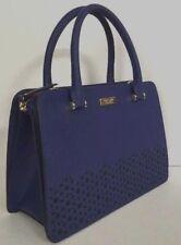 New Kate Spade Lise Newman drive Leather Satchel handbag Asilah Blue