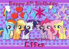 My Little Pony Personalised A5 Birthday Card Daughter Niece Sister Name Age