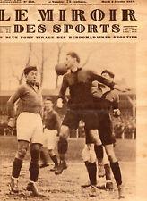 LE MIROIR DES SPORTS No. 356 DU 8 FÉVRIER 1927 - FOOTBALL