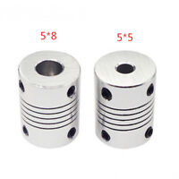3D Printer Parts Metal Silver Coupling Coupler Shaft For Stepper Motor EncoderHS