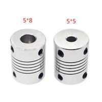 3D Printer Parts Metal Silver Coupling Coupler Shaft For Stepper Motor Encoder