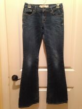 Abercrombie & Fitch Madison Bootcut Jeans Size 2 Stretch Waist 26 Length 33